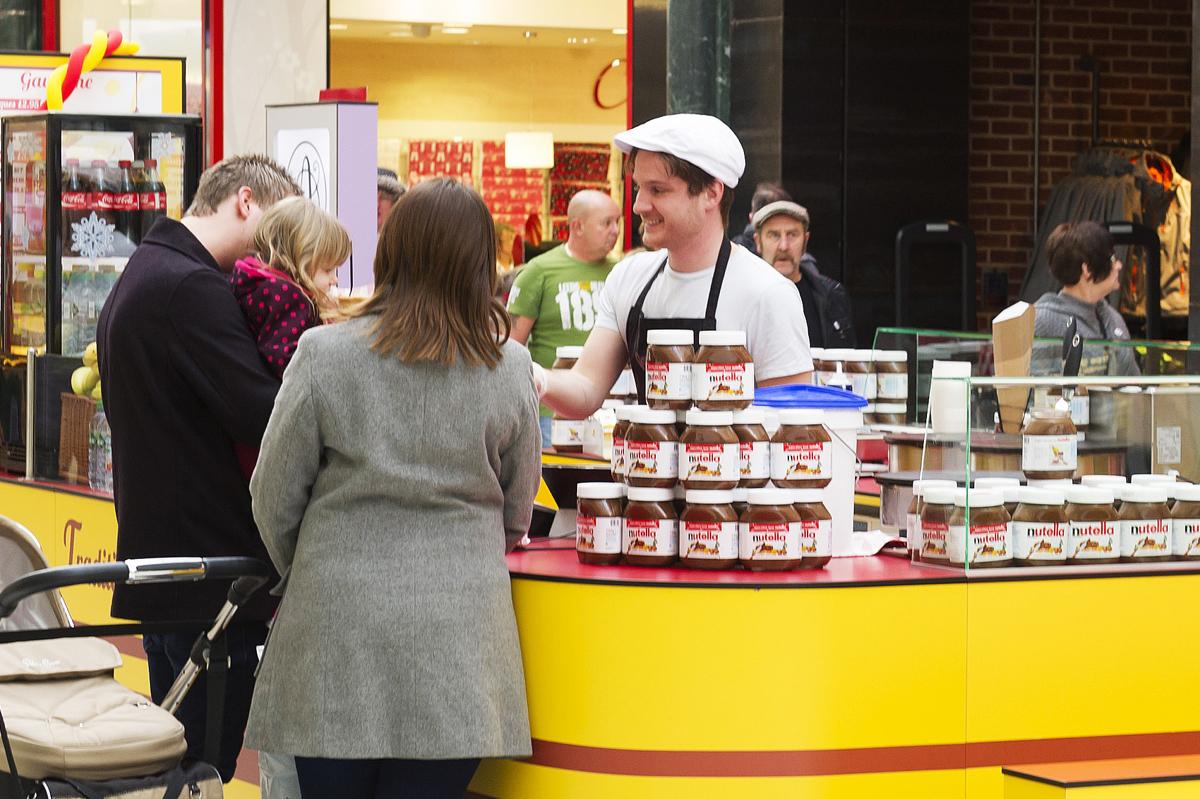 POP Retail can provide custom-built kiosks for food traders
