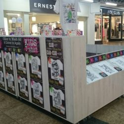 Art2Colour on POP Kiosk in Meadowahll Sheffield for Christmas period