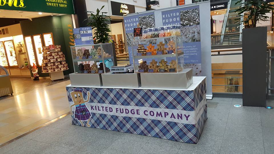 Kilted Fudge at Ocean Terminal Shopping Centre