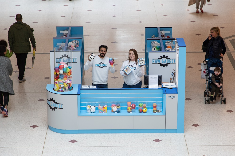 Retailer Case Study: Raw Gadget in The Glades Bromley with POP Retail