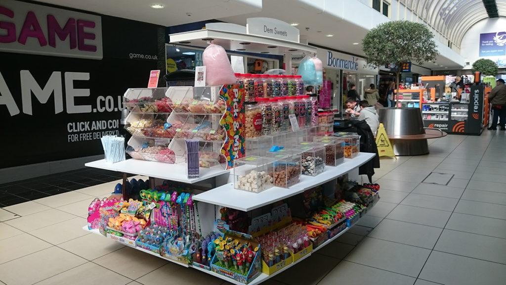 Retail Kiosk Dem Sweets sweets kiosk High Chelmer