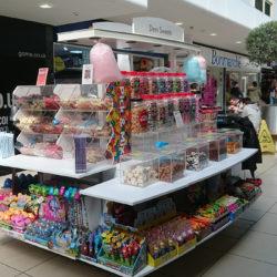 Retail Kiosk Dem Sweets