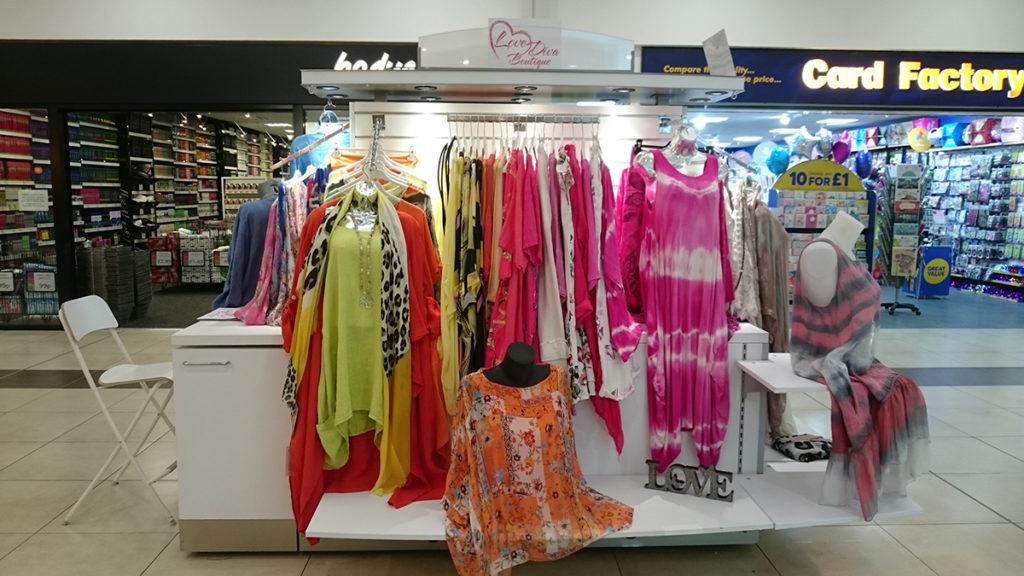 Glasgow Forge Retail Kiosk Love Diva Boutique