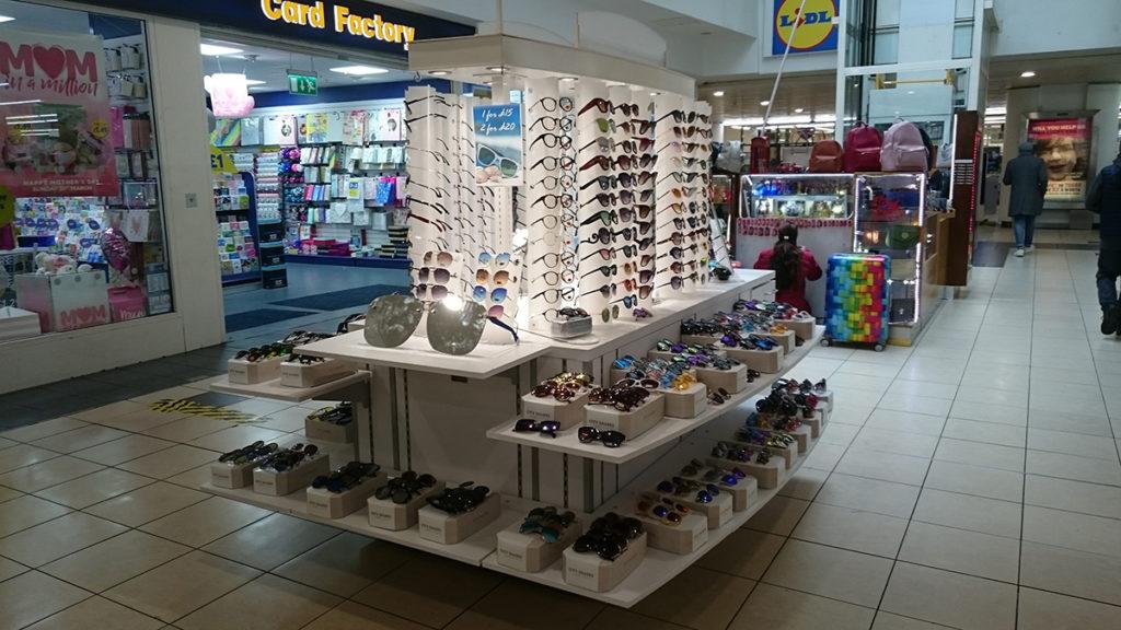 West 12 Shopping Centre Sunglasses Kiosk
