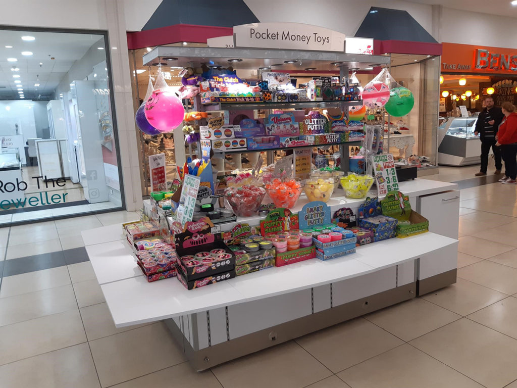 Glasgow Forge Shopping Centre Pocket Money Toys